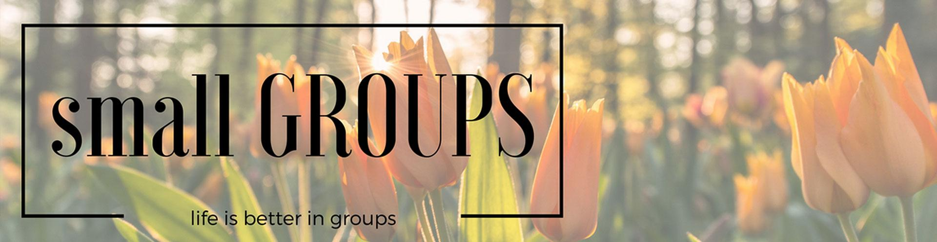 Spring 2017 Small Groups